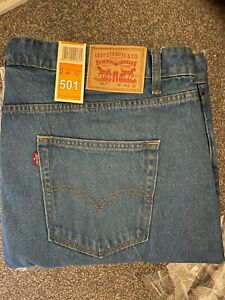 LEVIS Strauss 501 Straight fit Denim Gift Original factory outlet