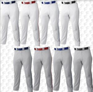 Russell Youth Boys Gray or White w/pipe Baseball Pants S233L2BK  **REG $29.95**