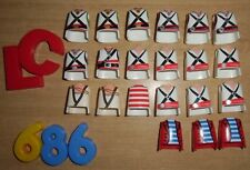 LOTE PLAYMOBIL CUERPOS,LOTE 686, ORGANES Playmobil, Organismes Playmobil, pièces