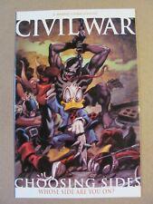Civil War Choosing Sides #1 Marvel Comics 2007 One Shot 9.4 Near Mint