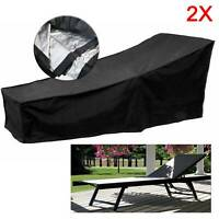 Waterproof Garden Patio Furniture Lounger Cover Rattan Dining Cube Seat Outdoor