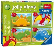 Ravensburger Jolly Dinos First Puzzle 2 3 4 5pc
