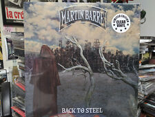 MARTIN BARRE Back to Steel Clear Vinyl LP (Jethro Tull) Skating Away