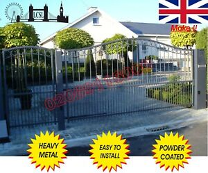 DRIVEWAY GATES / METAL GATES / COMPOSITE WOOD GATE/ GATES/ WROUGHT IRON GATE