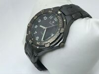 Zurich Swiss Men Watch Black Tone Analog Date Calendar Wrist Watch Water Resist