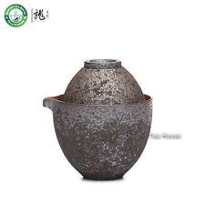 Main bois four à Céramique Portable Chine Gongfu tasse théière Set Voyage
