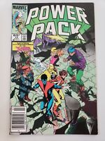 POWER PACK #12 (1985) MARVEL 1ST APPEARANCE BEAUTIFUL DREAMER! NEWSSTAND VARIANT