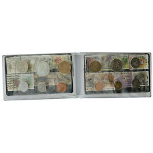 Singapore/Malaysia - Coin Set + Stamps - 1980-1998 - UNC