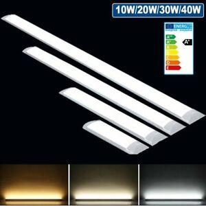 LED Deckenlampe Deckenleuchte Panel Lampe Licht Bürolampe Büro Büroleuchte Flach