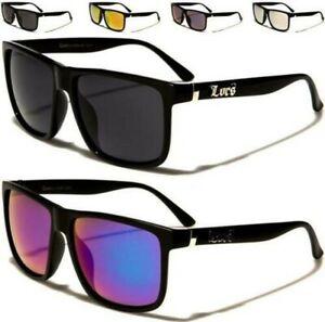 Herren Übergröße Locs Sonnenbrille Designer Flach Top Damen Schwarz Groß UV400
