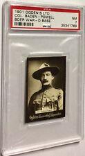1901 OGDENS (COL) BADEN POWELL PSA 7 HIGHEST GRADE (RARE TYPE) RARE CONDITION