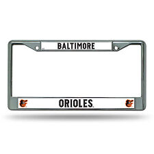 Baltimore Orioles Automobile Chrome License Plate Frame