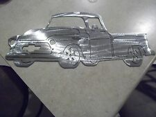 Bow tie grill1956 Chevy truck metal man cave sign garage art  Chevrolet