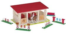 Papo Riding School Set with Rider and Horse Figures and 5 Obstacles 80309