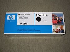 New Genuine HP C9700A Black Toner Cartridge, HP 121A