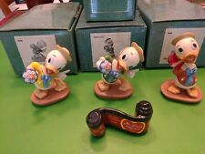 WDCC 'MR. DUCK STEPS OUT' HUEY, DEWEY and LOUIE w/ OPENING TITLE- 4 pieces