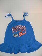 Cheekie Peach NCAA Girls Strappy Tank Florida Gators 4T