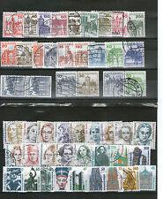 Ungeprüfte Briefmarken aus der BRD (1980-1989) mit Bauwerks-Motiv