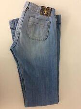 "TRUE RELIGION women's Jeans Boot Cut Leg High waisted Size 24 Inside Leg 34"" Inc"