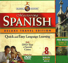 Mastering Spanish by Penton Overseas Inc (Mixed media product, 2007)