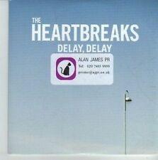 (CV715) The Heartbreaks, Delay, Delay - 2012 DJ CD