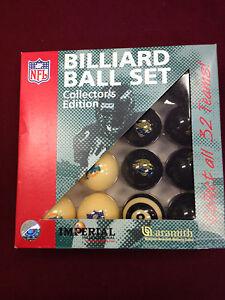 NFL Billard Balls Miami Dolphins JAX Jacksonville Jaguars HTF Collectible!