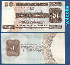 POLEN / POLAND 20 Dollars 1979  UNC  P.FX44