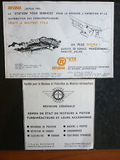65-87 2 PUBS REVIMA UTA CAUDEBEC-EN-CAUX TURBOPROPULSEURS PRATT & WHITNEY PT6 AD
