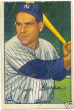 "Bowman 1952 Larry ""Yogi"" Berra Baseball Card"