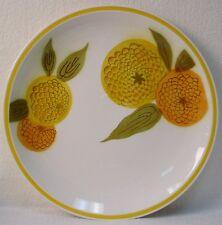 CERAMIC GUILD china TAMPICO Esperanto Yellow pattern CHOP PLATE Round Platter