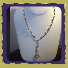 "Avon Extraordinary Briolette Vine Necklace 18"" Long New In Box"