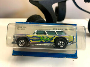 ESTATE FIND Hot Wheels BLACKWALL 1979 ALIVE 55 CHEVY NOMAD WAGON Chrome EXC COND