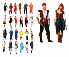 HALLOWEEN HORROR FANCY DRESS COSTUME ADULT Ladies Men Outfit Book Character UK