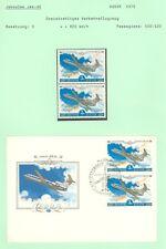 Aviation A88 Russia JAK-42 FDC +2v MNH 1979