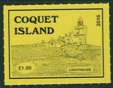 GB locals: Coquet Island (Northumberland) 2016 1v Lighthouse MNH