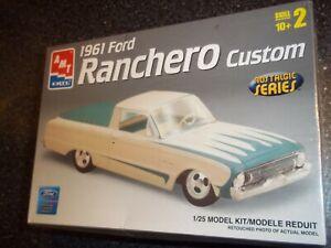 AMT/ERTL 1961 FORD FALCON RANCHERO CUSTOM  1/25 MODEL CAR KIT  NEW  SEALED NICE