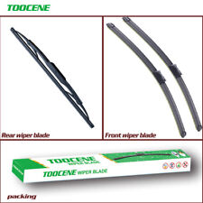 Front and rear Windshield Wiper blades for Cadillac SRX 2010-2016 windscreen