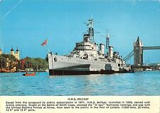 B98858 h m s belfast ireland   ship bateaux