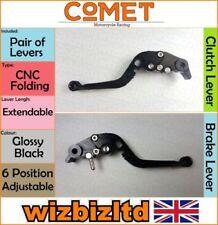 Manetas de freno negros para motos KTM