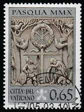 Vaticaan gestempeld 2010 used 1665 - Pasen
