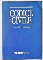 CODICE CIVILE a cura di L. SEBASTIANI TRAMONTANA 1989 con la COSTITUZIONE