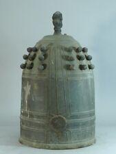 Japanese Antique Bronze Temple Bell 40cm 11kg