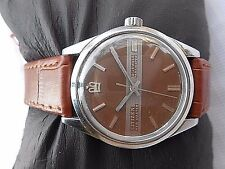 COLLECTIBLE VINTAGE SS JAPAN MADE CITIZEN NEW MASTER HAND WINDING MEN WRISTWATCH