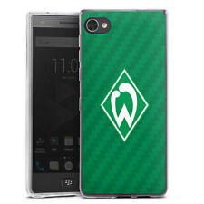 Blackberry Motion Silikon Hülle Case Handyhülle - Carbonlook - Werder Bremen