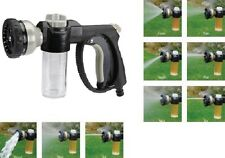 Car Wash Nozzle w/ Soap Dispenser Home Garage Garden Auto Car Shop Boat Camper
