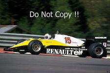 Alain Prost Renault RE40 Winner Belgian Grand Prix 1983 Photograph 3