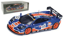 Spark S4406 McLaren F1 GTR #33 'BMW Gulf Racing' 9th Le Mans 1996 - 1/43 Scale