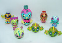 Lot de 8 ZOOBLES dont Zippy #111 Figurine Jouet animaux boules ST/SML SPIN SHINY