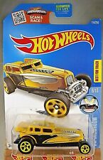 2016 Hot Wheels #116 Hw Showroom 6/10 Great Gatspeed Yellow Variation w/Yell 5sp