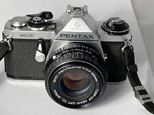 Pentax ME Film Camera & Pentax M 50mm F1.7 Lens, New Seals, Working